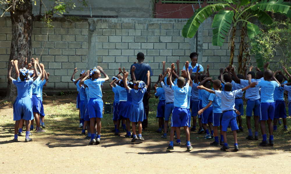 Haïti, tenues sportives