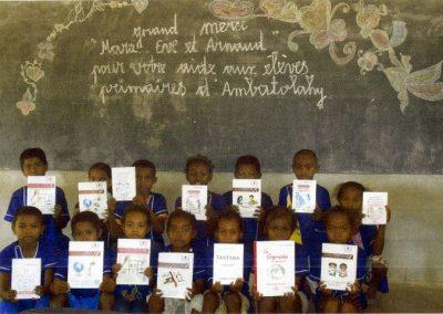Écoliers à Madagascar