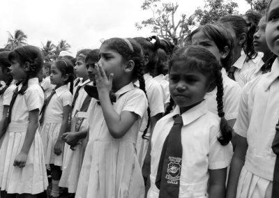 Écoliers au Sri Lanka (Galle)